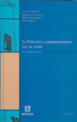 La directive communautaire sur la vente