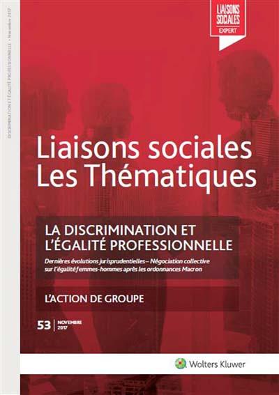 La discrimination et l'égalité professionnelle