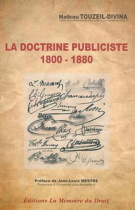 La doctrine publiciste 1800-1880