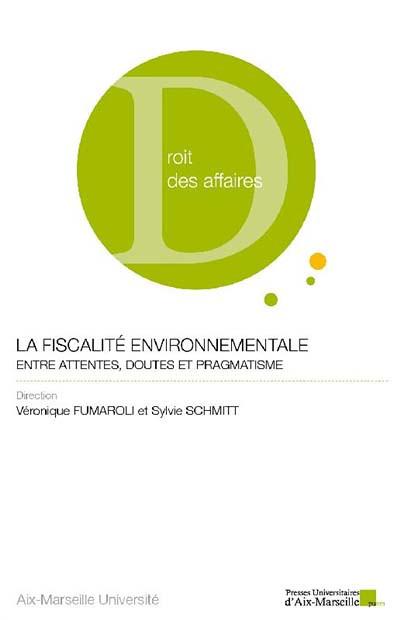 La fiscalité environnementale