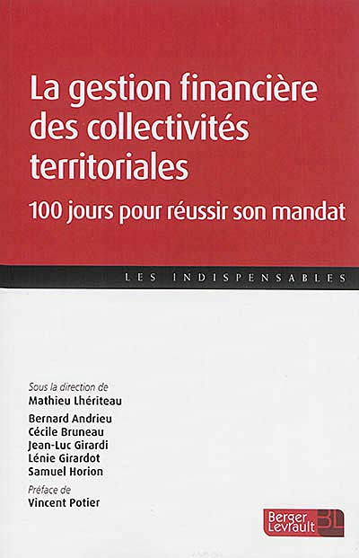 La gestion financière des collectivités territoriales