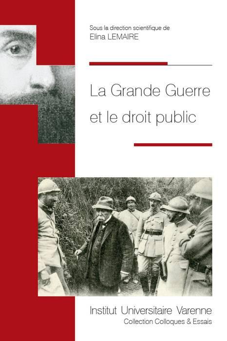 La Grande Guerre et le droit public
