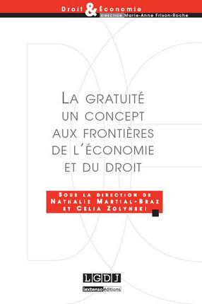 La gratuité, un concept aux frontières de l'économie et du droit