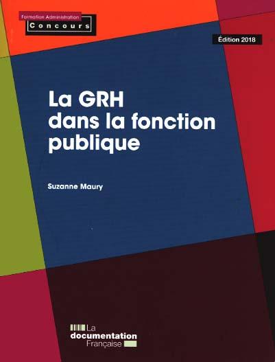 La GRH dans la fonction publique - Edition 2018