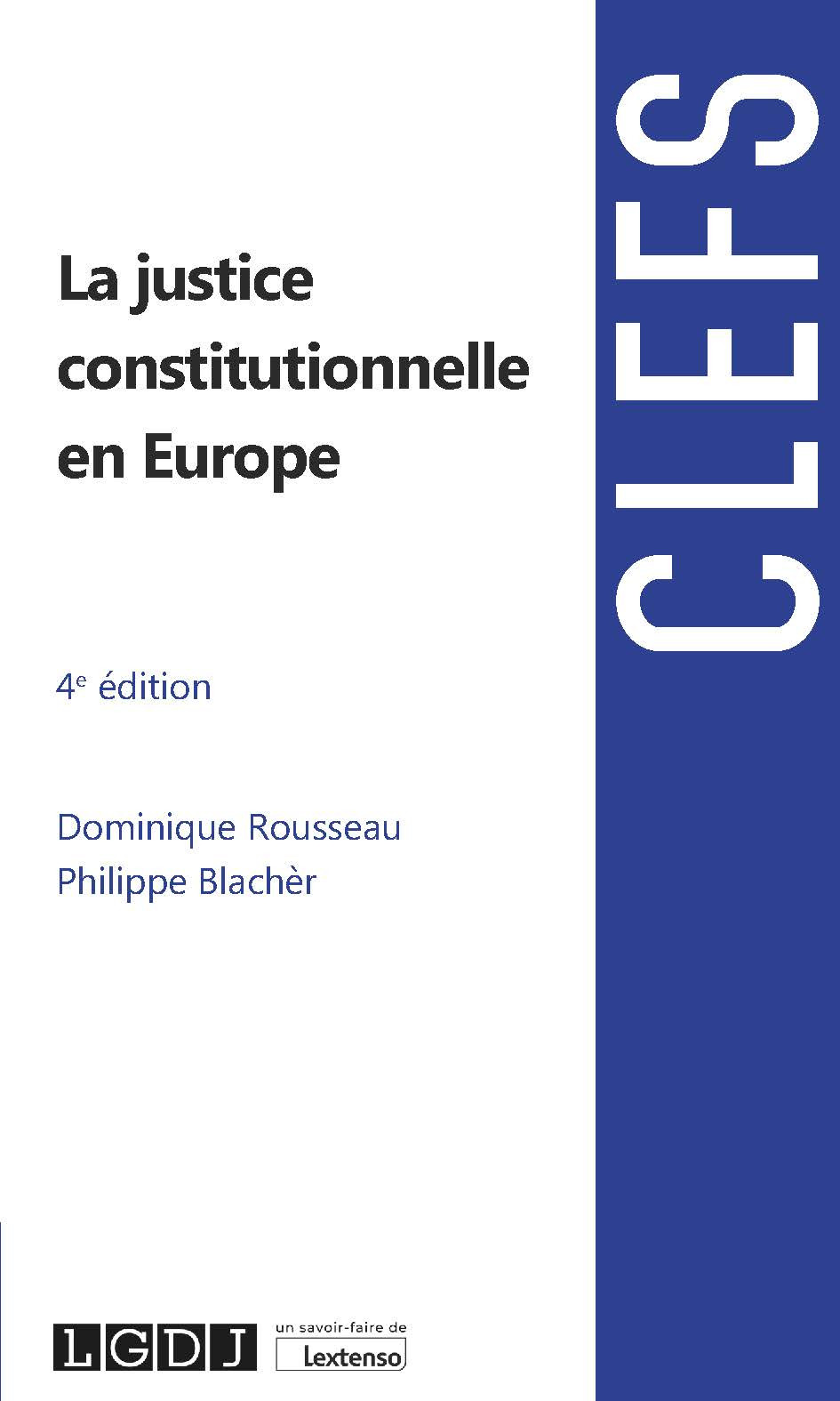 [EBOOK] La justice constitutionnelle en Europe