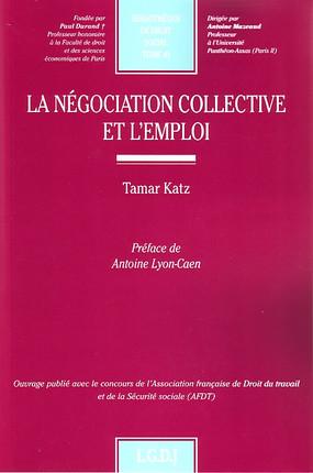 La négociation collective et l'emploi