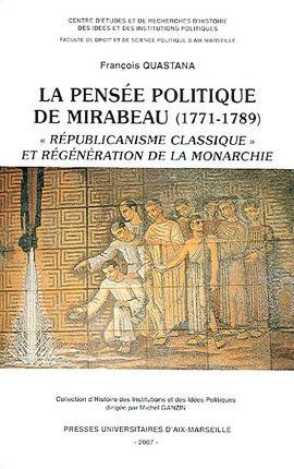 La pensée politique de Mirabeau (1771-1789)