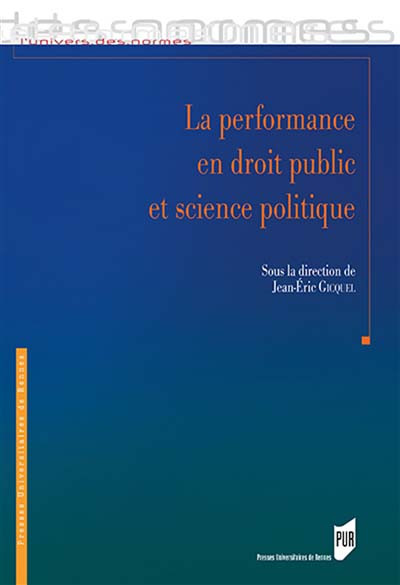 La performance en droit public et science politique