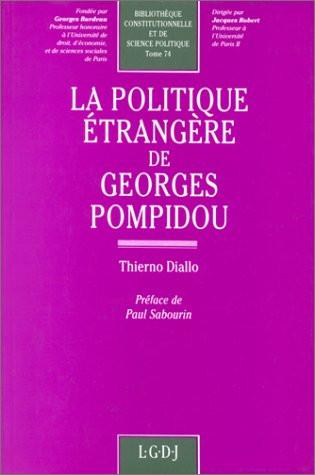 La politique étrangère de Georges Pompidou