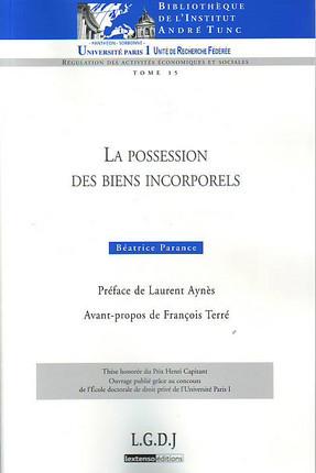 La possession des biens incorporels