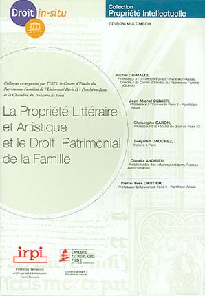 La propriété littéraire et artistique et le droit patrimonial de la famille (coffret 1 CD-Rom)