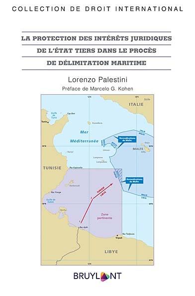 La protection des intérêts juridiques de l'État tiers dans le procès de délimitation maritime.