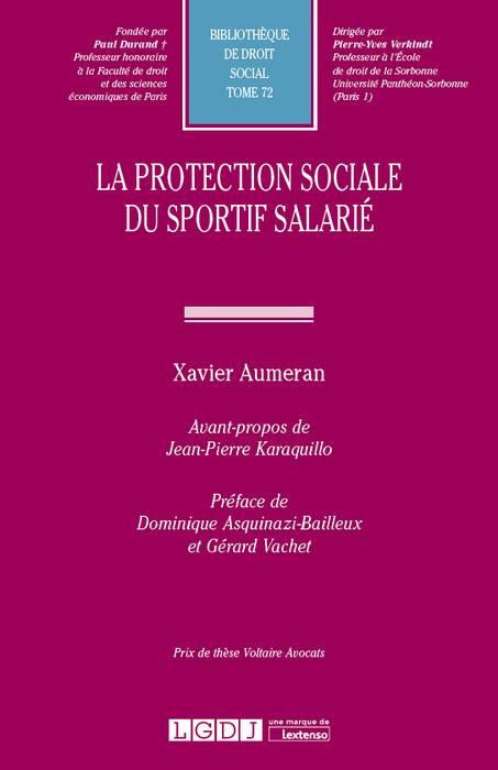 La protection sociale du sportif salarié