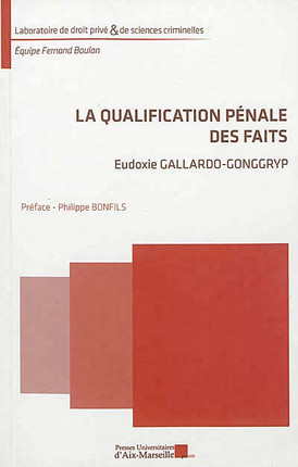 La qualification pénale des faits