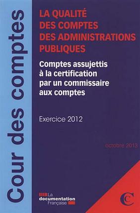 La qualité des comptes des administrations publiques