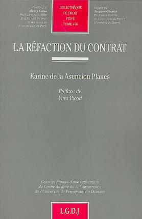 La réfaction du contrat