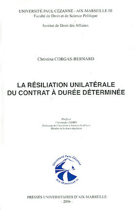 La résiliation unilatérale du contrat à durée déterminée