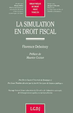 La simulation en droit fiscal