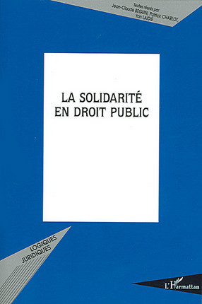 La solidarité en droit public