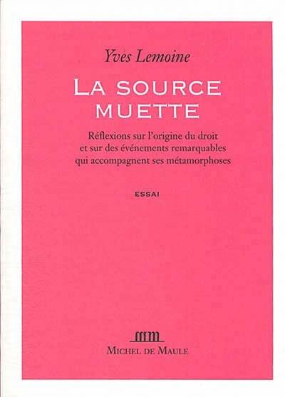 La source muette