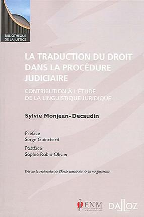 La traduction du droit dans la procédure judiciaire
