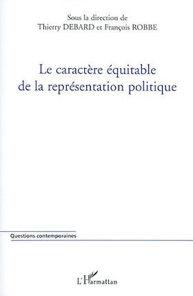 Le caractère équitable de la représentation politique