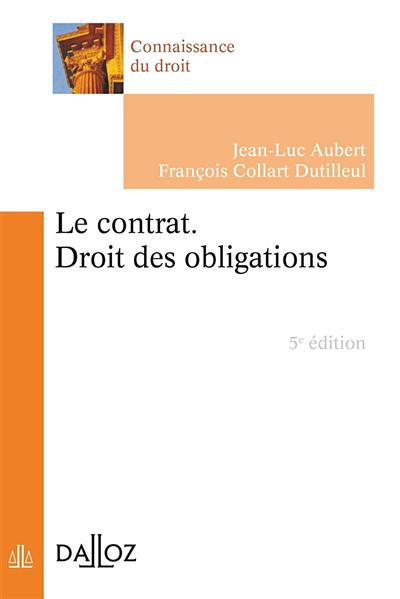 Le contrat - Droit des obligations