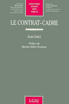 Le contrat-cadre