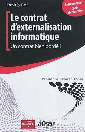 Le contrat d'externalisation informatique