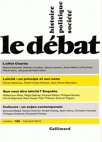 Le débat, mai-août 2015 N°185