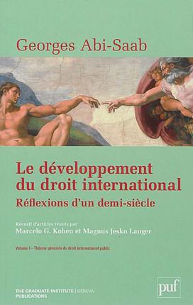 Le développement du droit international