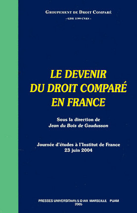 Le devenir du droit comparé en France