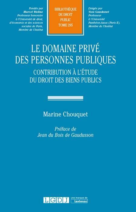 Le domaine privé des personnes publiques
