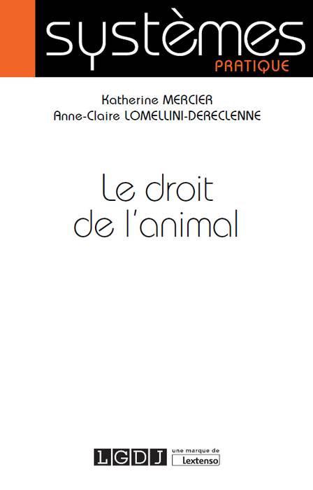Le droit de l'animal