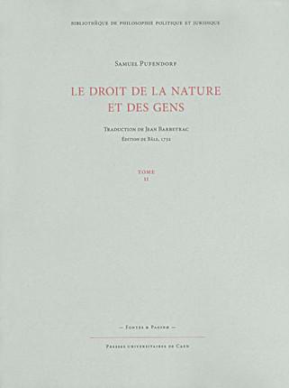 Le droit de la nature et des gens