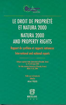 Le droit de propriété et natura 2000