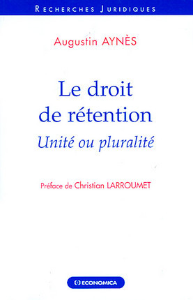 Le droit de rétention