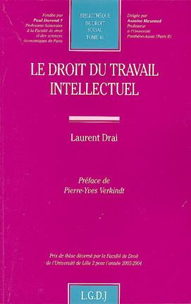 Le droit du travail intellectuel