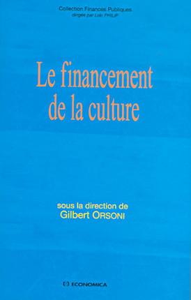 Le financement de la culture