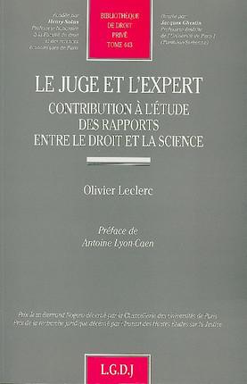 Le juge et l'expert