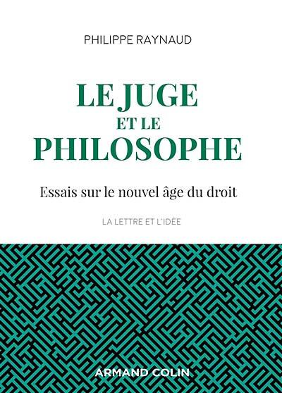 Le juge et le philosophe