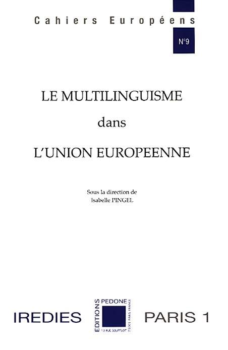 Le multilinguisme dans l'Union européenne