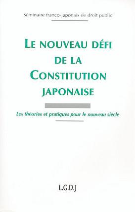 Le nouveau défi de la Constitution Japonaise