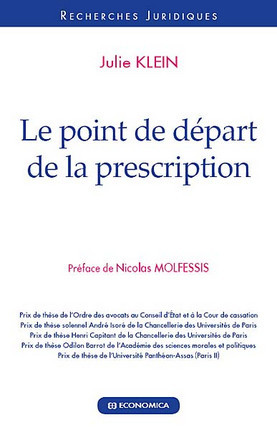 Le point de départ de la prescription