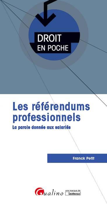 Les référendums professionnels