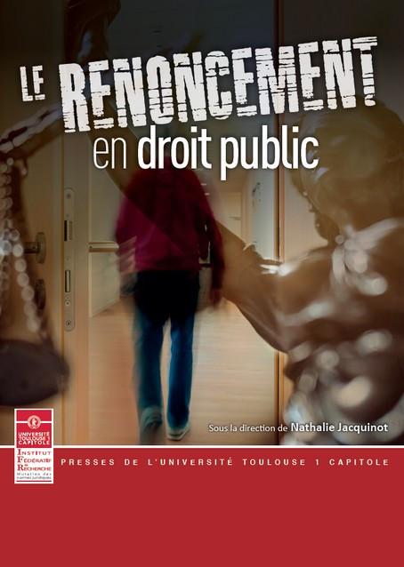 Le renoncement en droit public