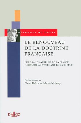 Le renouveau de la doctrine française