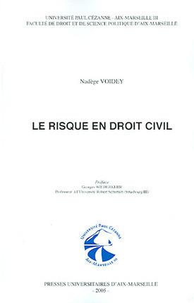 Le risque en droit civil