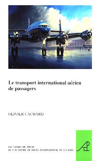 Le transport international aérien des passagers