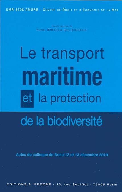 Le transport maritime et la protection de la biodiversité